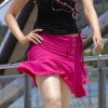 Tamanna Looks Naughty In Balck  Pink (Photo 2 of 53 photo(s)).